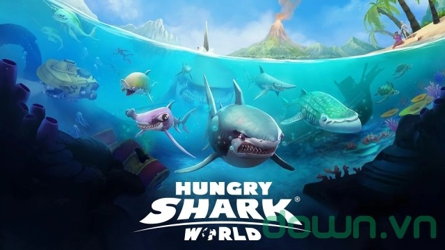Hungry Shark World - game hành động hấp dẫn