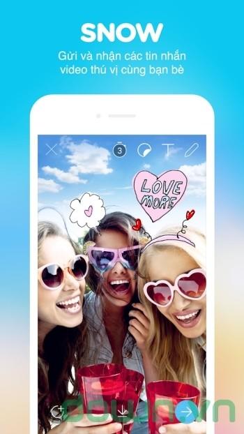 Gửi và nhận tin nhắn video cùng bạn bè