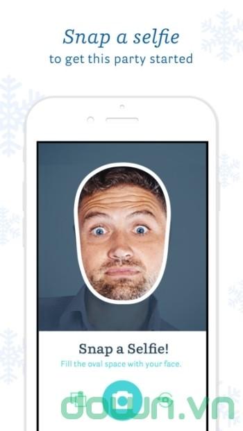 Chụp ảnh selfie hài hước