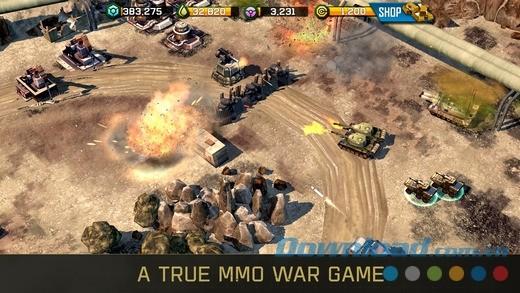War Commander: Rogue Assault cho iOS - game chiến thuật hấp dẫn trên iPhone