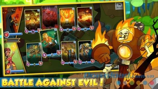Chiến đấu chống lại quỷ dữ trong Spellstone cho iOS