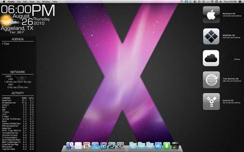 GeekTool for Mac