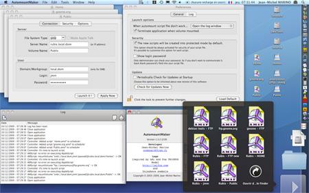 AutomountMaker for Mac OS X