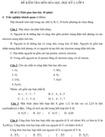 Đề kiểm tra học kì 1 lớp 8 môn Hóa học - Đề 2
