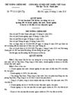 Quyết định số 77/2010/QĐ-TTG