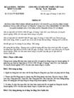 Thông tư 33/2012/TT-BLĐTBXH