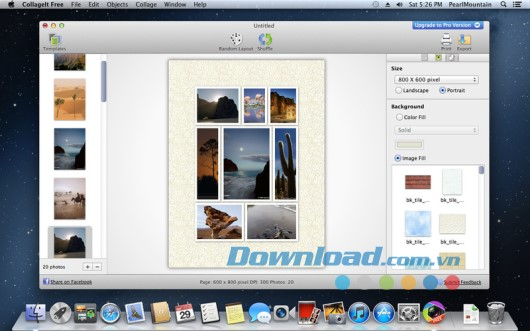 CollageIt Free for Mac