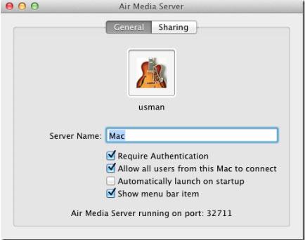 Air Media Server