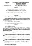 Nghị định số 107/2010/NĐ-CP