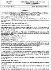 Nghị định 99/2012/NĐ-CP