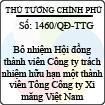 Quyết định số 1460/QĐ-TTG