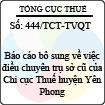 Công văn 444/2013/TCT-TVQT