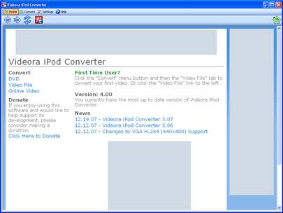 Videora iPod Converter For Mac