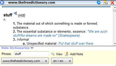 Dictionary Tooltip For Mac