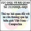 Công văn 212/GSQL-GQ3