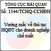 Công văn 1544/TCHQ-CCHĐH