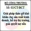Chỉ thị 02/CT-BCT