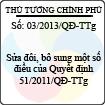 Quyết định 03/2013/QĐ-TTg