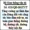 Quyết định 620/QĐ-BGTVT