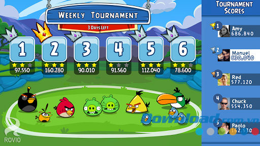 Angry Birds Friends for iOS