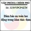 Công văn 3259/VPCP-KTN