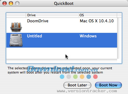 QuickBoot for Mac