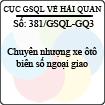 Công văn 381/GSQL-GQ3