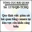 Quyết định 1570/2013/QĐ-TCHQ