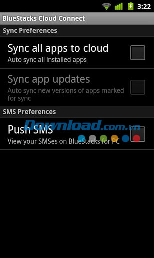 BlueStacks Cloud Connect for Android