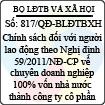 Quyết định 817/QĐ-BLĐTBXH