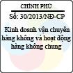 Nghị định 30/2013/NĐ-CP