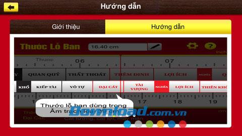 Thước Lỗ Ban for iOS