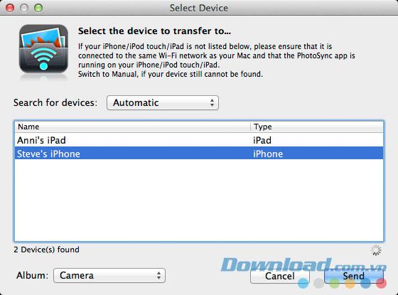 PhotoSync Companion for Mac