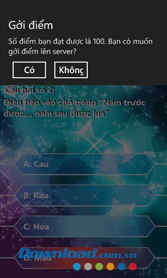AiLaTrieuPhu for Windows Phone