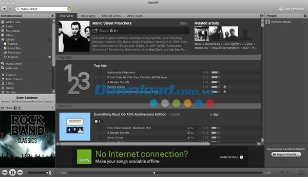 Spotify for Mac
