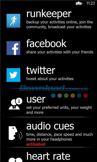 Caledos Runner for Windows Phone