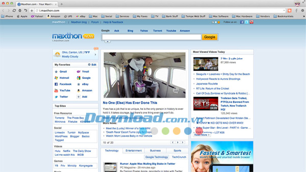 Maxthon Cloud Browser for Mac