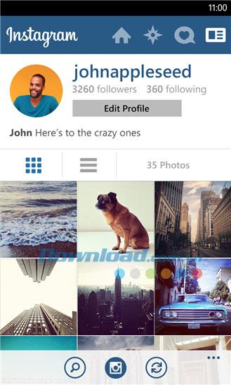 Instagram BETA for Windows Phone