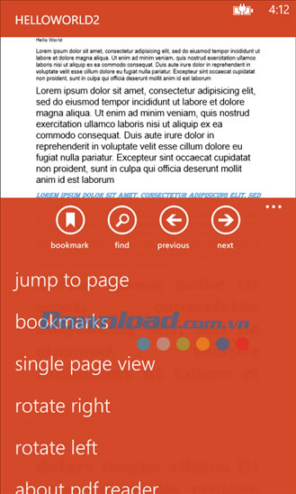 PDF Reader for Windows Phone