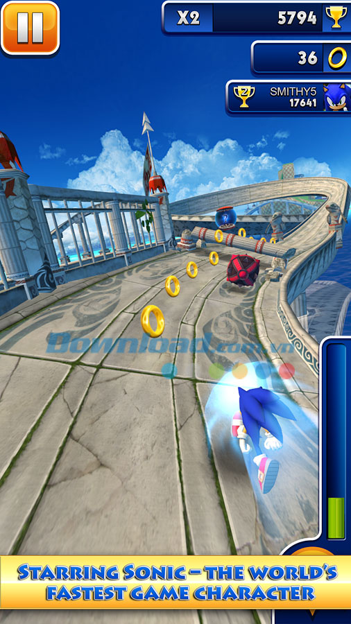 Sonic Dash for Android
