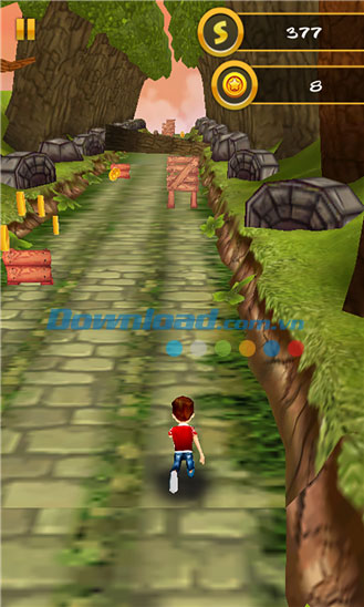 3D Jungle Run for Windows Phone