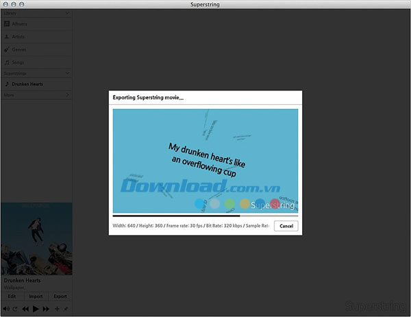 Superstring Free for Mac