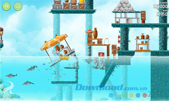 Angry Birds Rio for Windows Phone