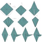 Một số mẫu xếp giấy Origami hay và đẹp
