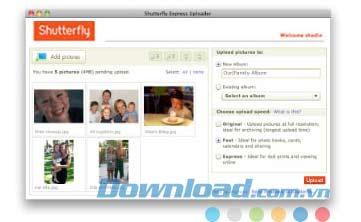 Shutterfly Express Uploader for Mac