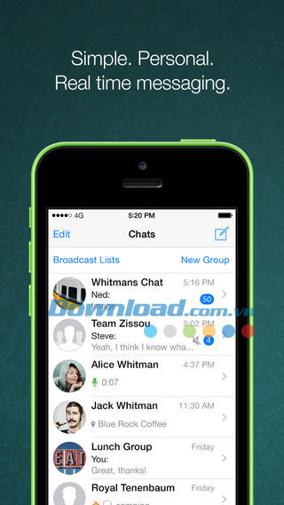 WhatsApp Messenger for iOS