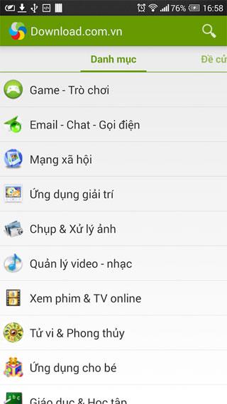 Download.com.vn - App Store VN