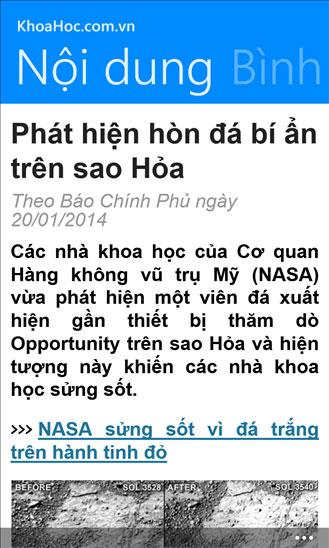 KhoaHoc.com.vn for Windows Phone