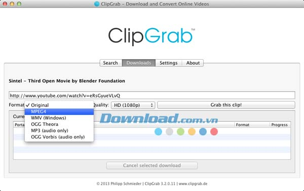 ClipGrab for Mac