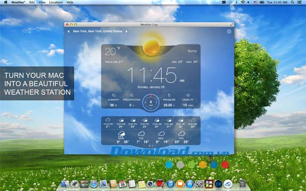 Weather for Mac